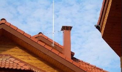 Молниезащита деревянного дома