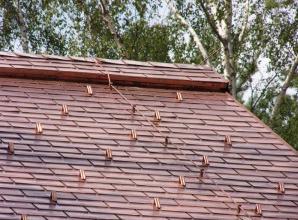 Молниезащита для металлической крыши