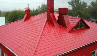 Молниезащита металлической крыши своими руками