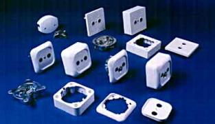 Основные виды электрических розеток: переносные, накладные, встроенные розетки
