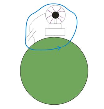 Заземление трансформатора Тесла