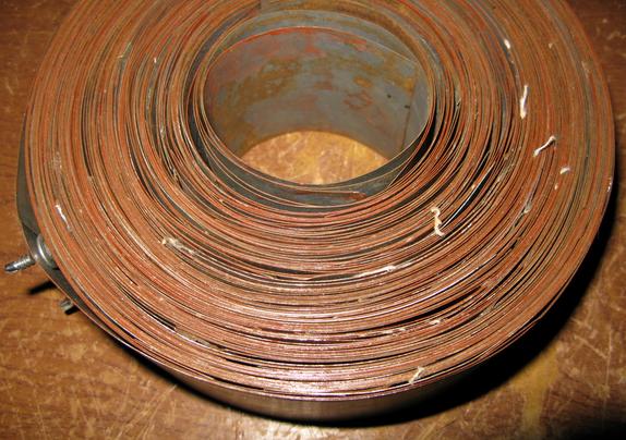 Изготовление тороидального сердечника