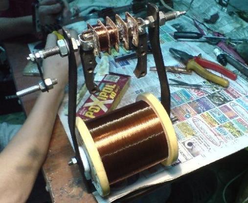 Инструмент для намотки витков трансформатора