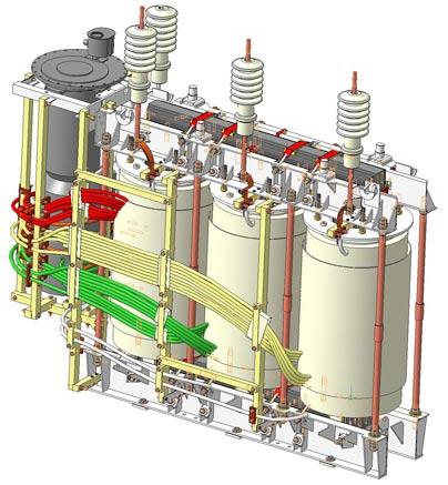 Принцип работы силового трансформатора тока