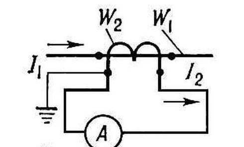 Схема измерительного трансформатора