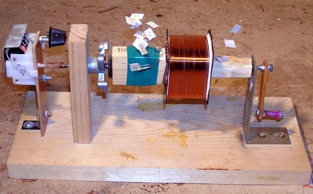 Устройство для намотки трансформатора