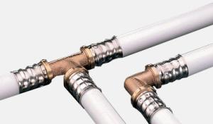 как подключить трубы из металлопластика