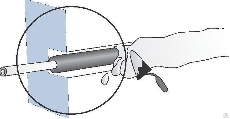 Заделка проводки в штробы