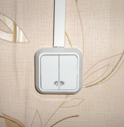 Кабель канал для выключателя