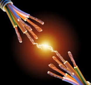 Короткое замыкание в цепи освещения