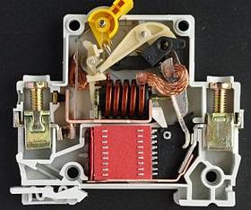 схема сасцепители автоматических выключателей