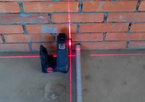 Современный способ разметки стен