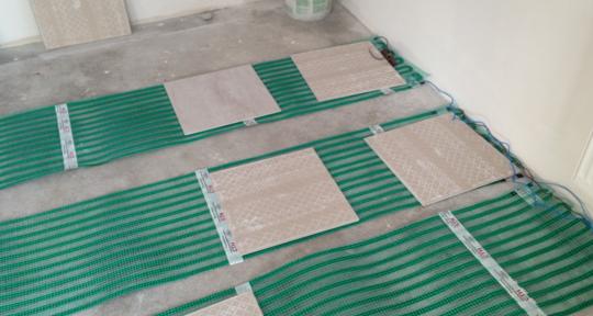 Укладка плитки на электрический пол особенности