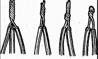 скрутка трех проводов