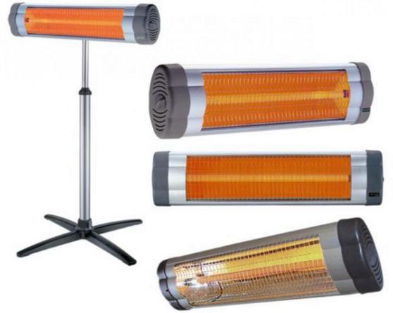 Инфракрасный обогреватель с металлическим излучателем