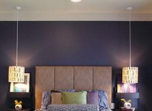 Освещение для спальни над кроватью особенности