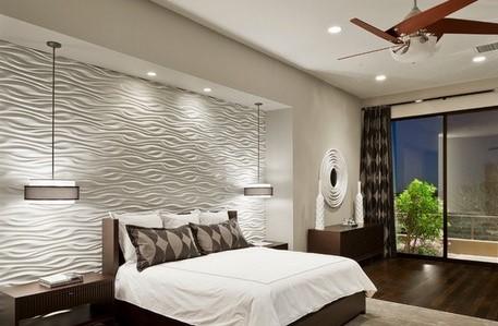 Освещение для спальни над кроватью