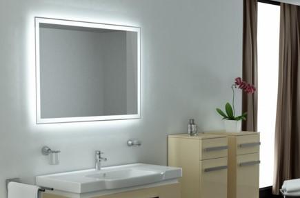 Освещение зеркал в ванной