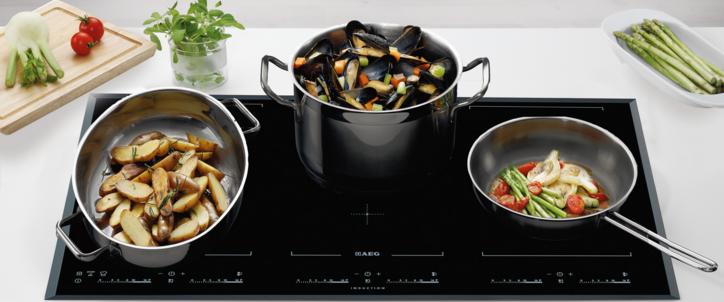 Рекомендуемая посуда для варочной панели