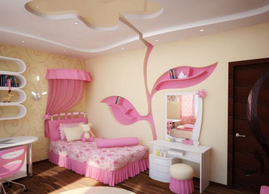 Светильник в детскую комнату для девочек