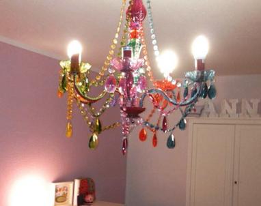 Светильник для девочек