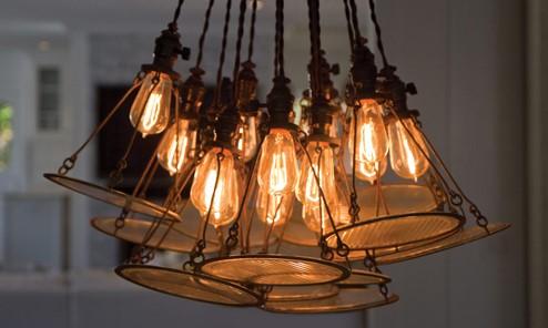Как выглядит лампа в интерьере