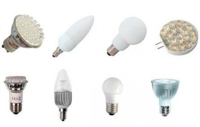 Светодиодные лампы разновидности