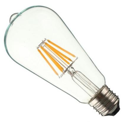 Светодиодные лампы Filament LED особенности