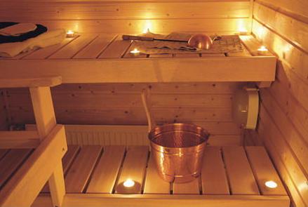 Современные светильники для бани