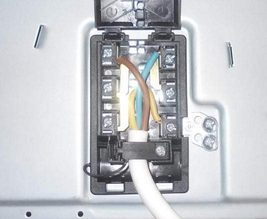Соединение проводов в варочной панели