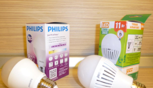 Лампы Jazzway и Philips сравнение