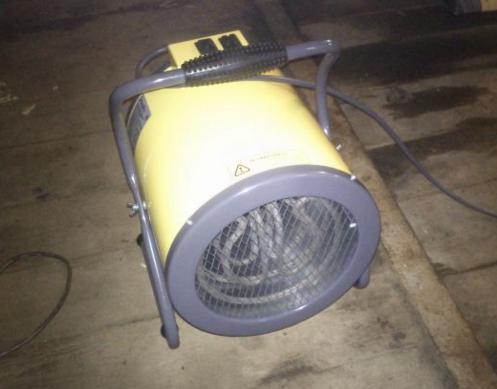 Тепловентилор в гараже