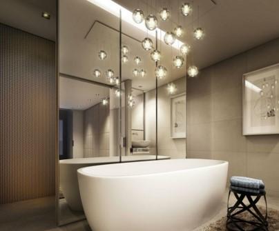 Точечная подсветка для ванной виды
