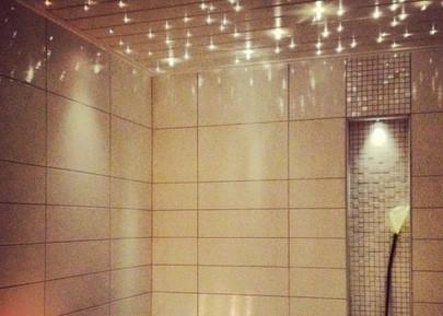 Точечная подсветка для ванной