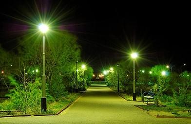 Уличное освещение особенности