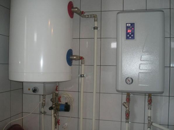 Электрокотел с водяными обогревателями