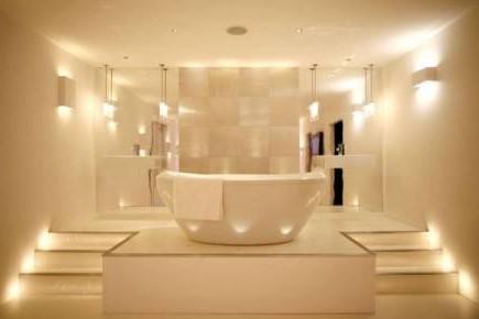 выбрать светильники для ванной