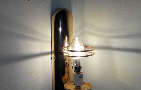 как светит лампа ферон