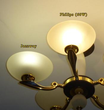 как светят лампы