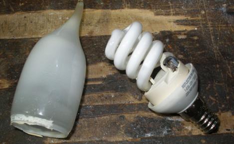 лампы без колбы