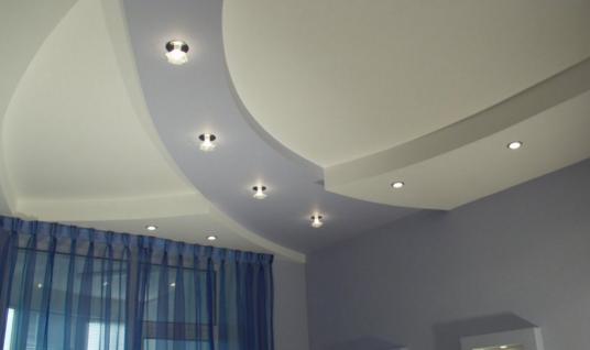 светильники потолочные в гипсокартон особенности