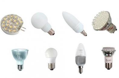 светодиодные лампы форма