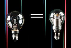 Соотношение мощности ламп