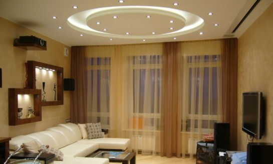 точечное освещение в спальне особенности