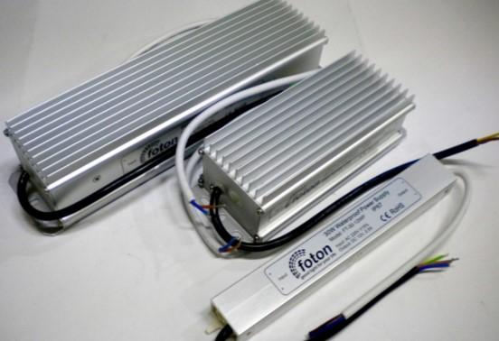 Блок питания в алюминиевом корпусе для светодиодной ленты