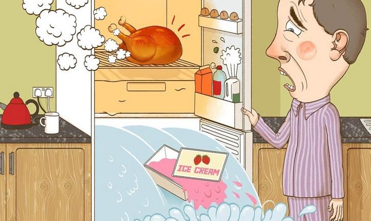 Где нельзя установить холодильник