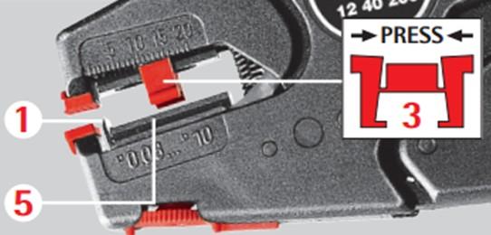 Замена ножа на клещах Knipex