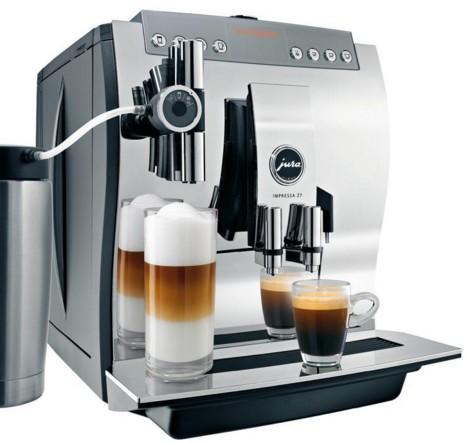 Передняя панель кофемашины