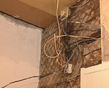 Старая проводка в доме