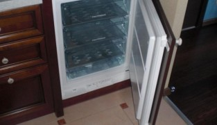 Установка морозильной камеры своими руками